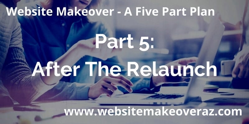 Website Makeover Part 5: After The Relaunch